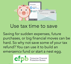 Use Tax Time to Save