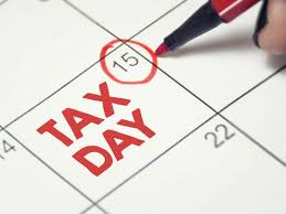 Money Monday – Tax Day is Today